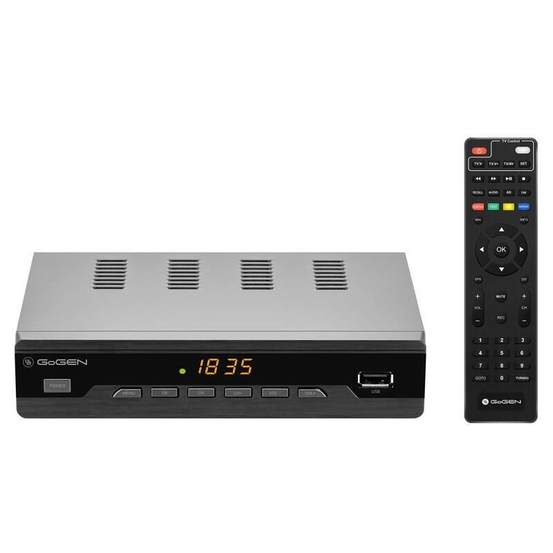 Set-top box GoGEN DVB 282 T2 PVR čierny