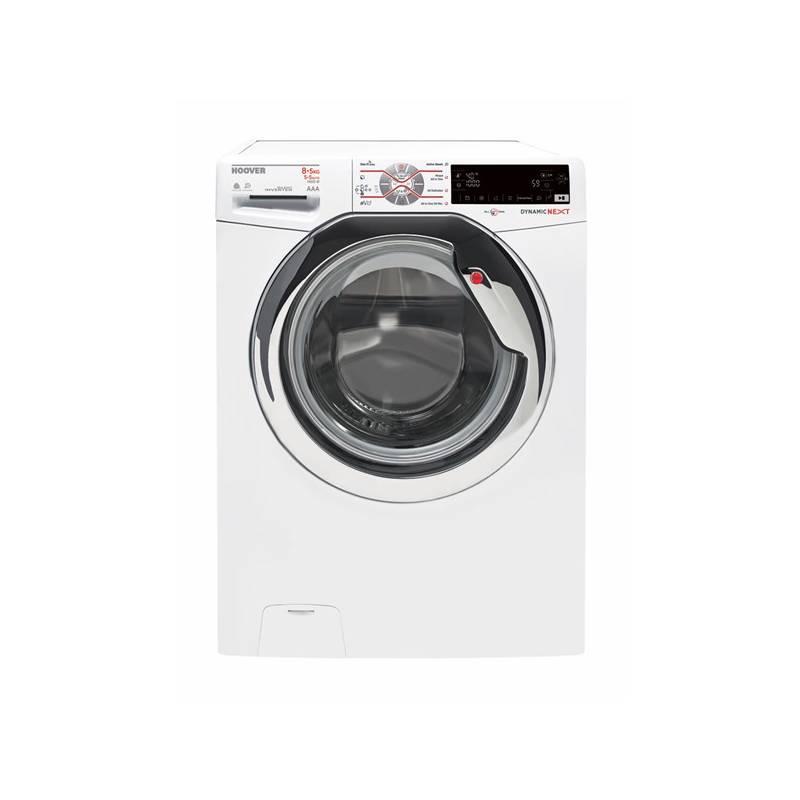 Pračka se sušičkou Hoover WDWT45 485AHC-S bílá