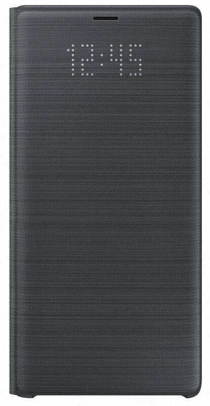 Púzdro na mobil flipové Samsung LED View pro Galaxy Note 9 (EF-NN960PBEGWW) čierne