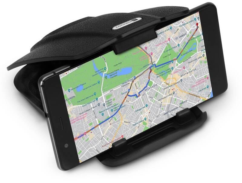 Držák na mobil Connect IT InCarz, na palubní desku (CMC-5010-BK) černá