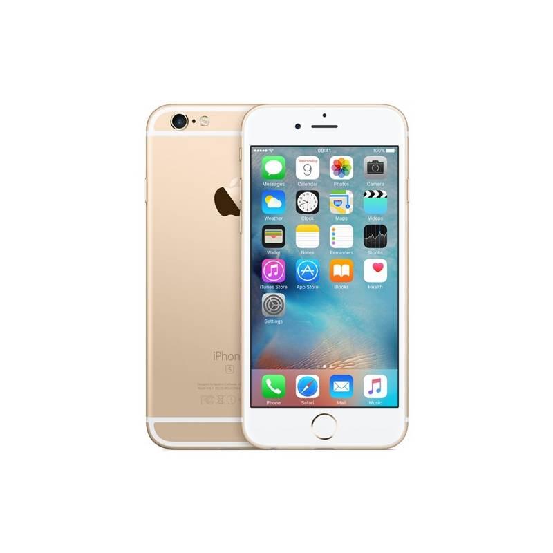 Mobilný telefón Apple iPhone 6s 128GB - Gold (MKQV2CN/A) zlatý Software F-Secure SAFE 6 měsíců pro 3 zařízení (zdarma) + Doprava zadarmo