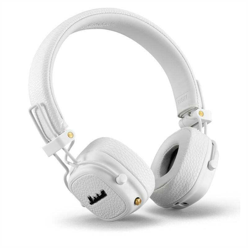 Slúchadlá Marshall Major III Bluetooth biela + Doprava zadarmo