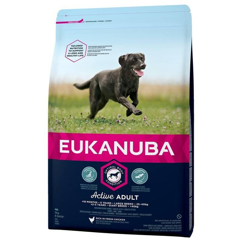 Granule Eukanuba Adult Large Breed 15 kg