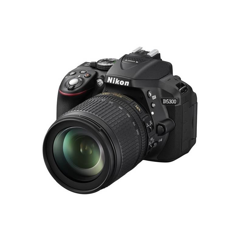 Digitálny fotoaparát Nikon D5300 + 18-105 AF-S VR čierny + Doprava zadarmo