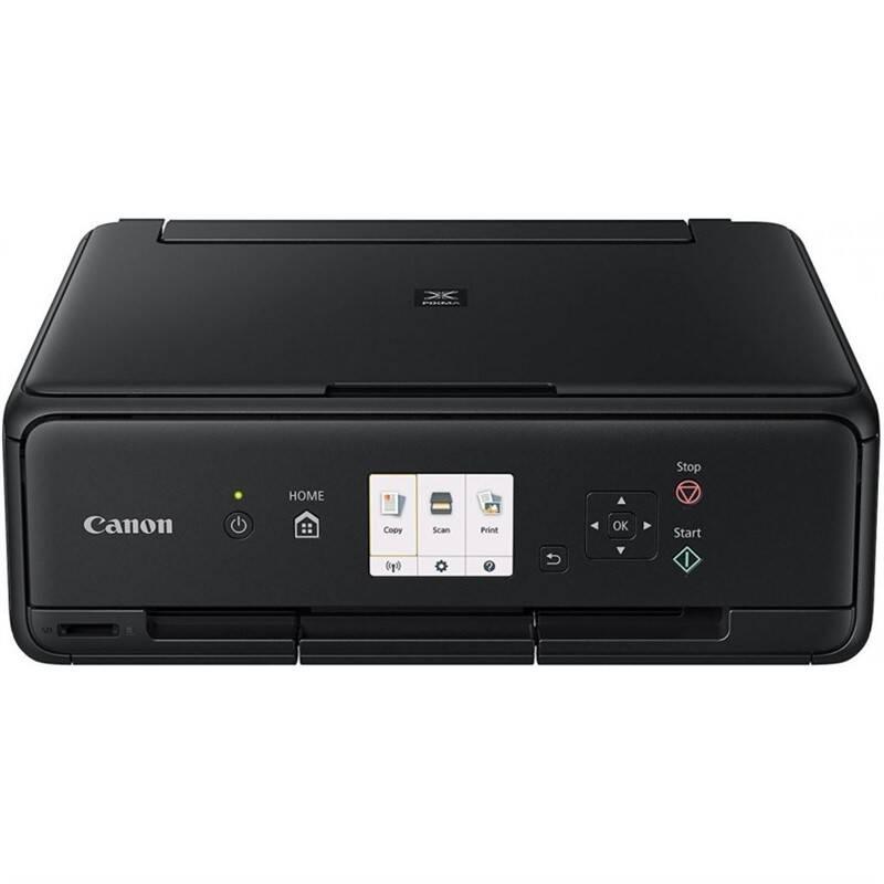 Tlačiareň multifunkčná Canon PIXMA TS5055 + papír (1367C079) čierna