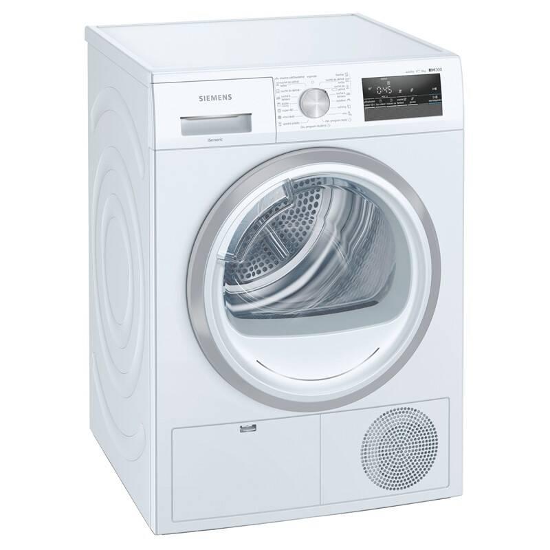 Sušička bielizne Siemens iQ300 WT45H201CS biela + Doprava zadarmo