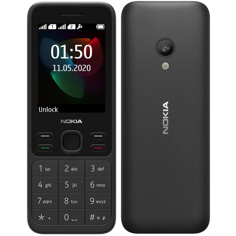 Mobilný telefón Nokia 150 Dual SIM 2020 (16GMNB01A05) čierny