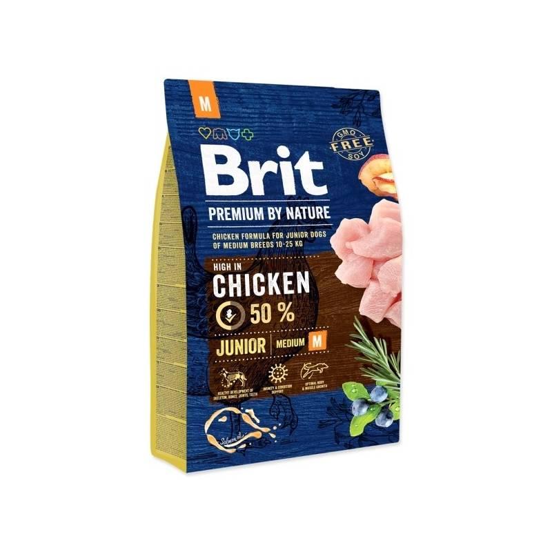 Granule Brit Premium Dog by Nature Junior M 3 kg