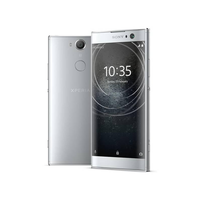 Mobilný telefón Sony Xperia XA2 Dual SIM (1312-6695) strieborný + Doprava zadarmo