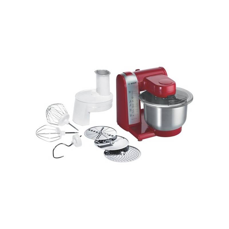 Kuchynský robot Bosch MUM48R1 červený