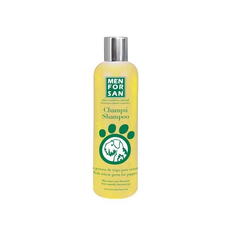 Šampón Menforsan velmi jemný pro štěňata z pšeničných klíčků 300 ml