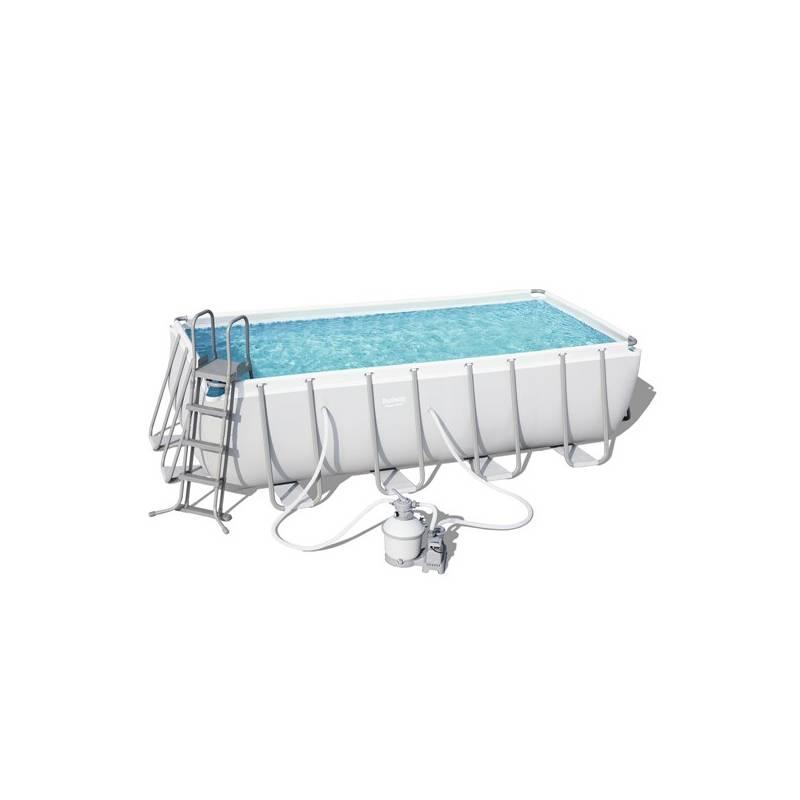Bazén Bestway Power Steel Pool 488 x 244 x 122 cm set (BW56671) + Doprava zadarmo