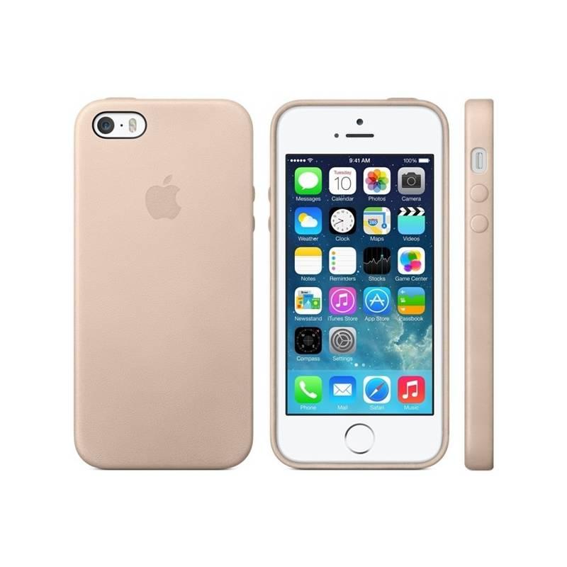 Kryt na mobil Apple na iPhone 5s Case (MF042ZM/A) béžový