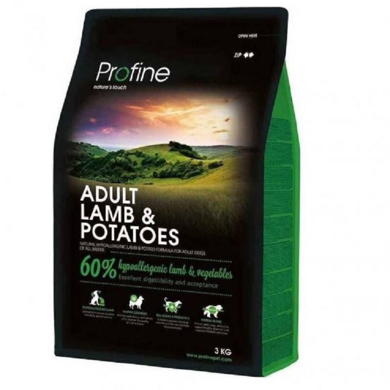 Granule PROFINE Adult Lamb & Potatoes 3kg