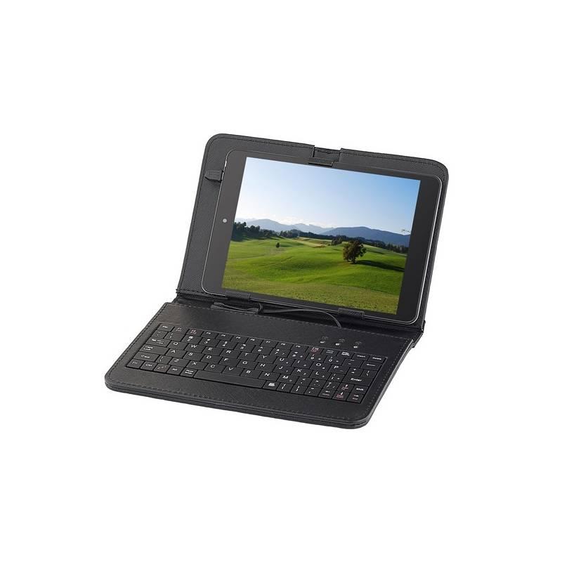 """Púzdro s klávesnicou na tablet GoGEN univerzal 7,85"""", polohovací (GOGTA8KEYBOARD) čierne"""