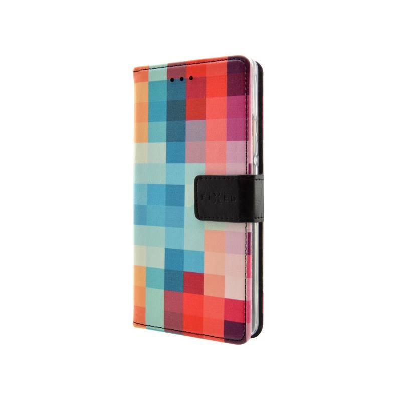 Puzdro na mobil flipové FIXED Opus pro Samsung Galaxy J3 (2016) - dice (FIXOP-102-DI)