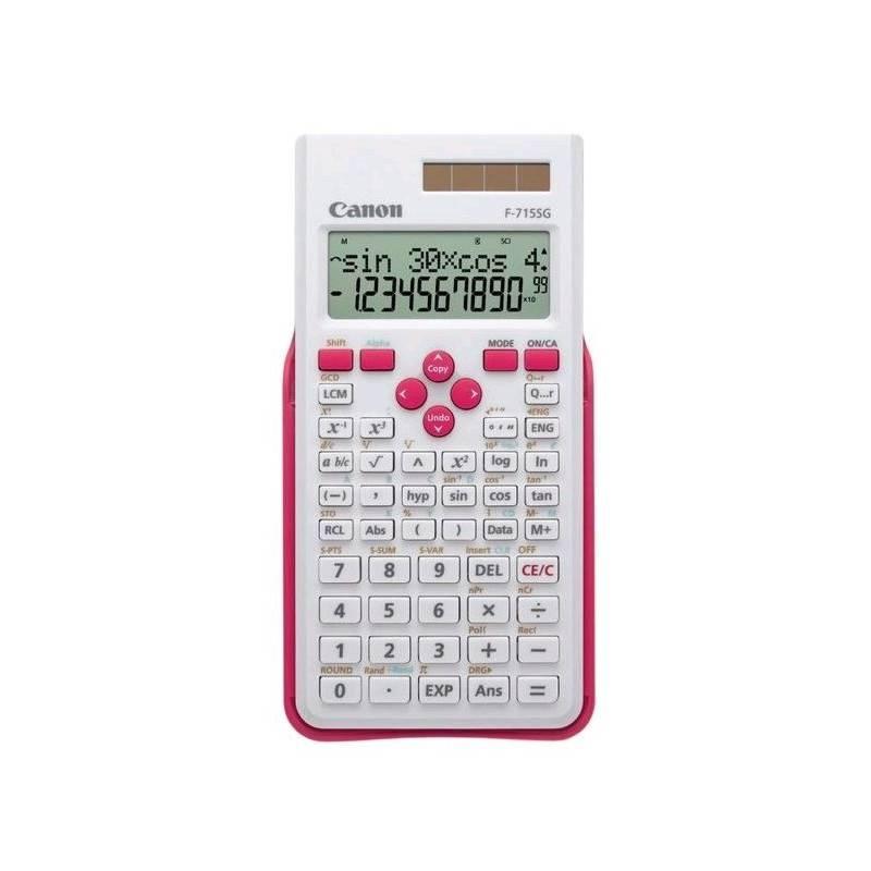 Kalkulačka Canon F-715SG (5730B005) biela/ružová