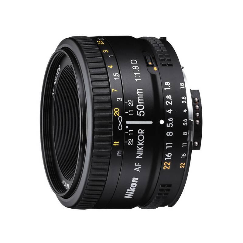 Objektív Nikon NIKKOR 50mm f/1.8 AF D čierny