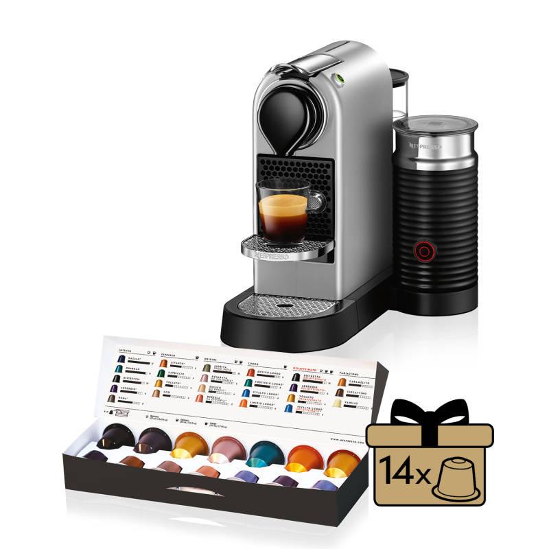 Espresso Krups Nespresso Citiz XN760B10 Titanium