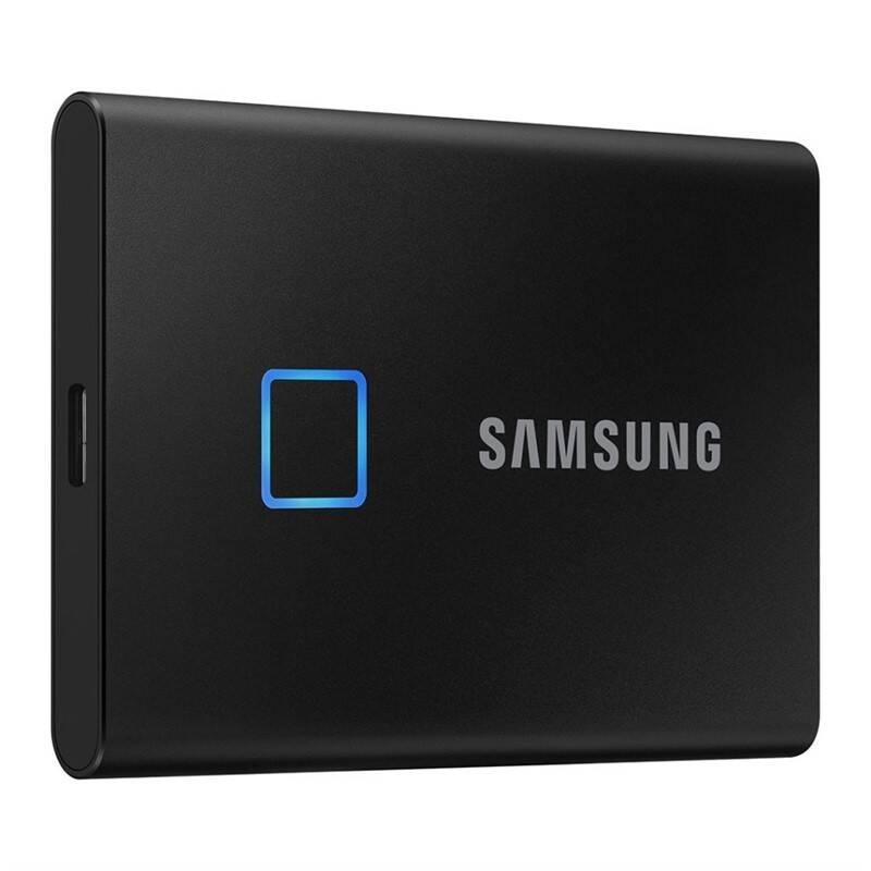 SSD externý Samsung T7 Touch 1TB (MU-PC1T0K/WW) čierny
