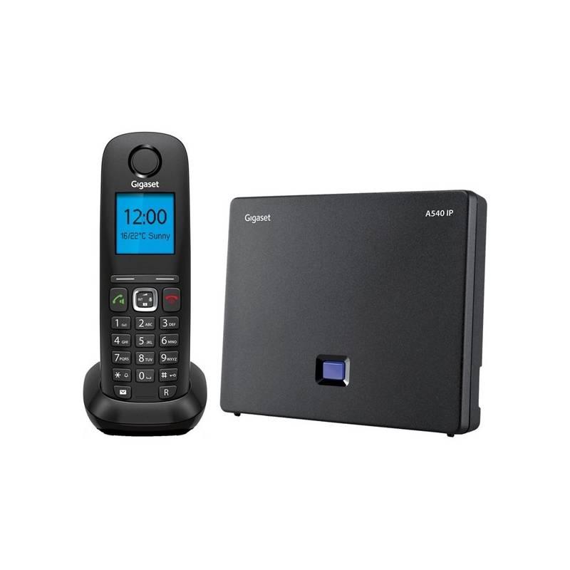 Domáci telefón Siemens A540 IP čierny