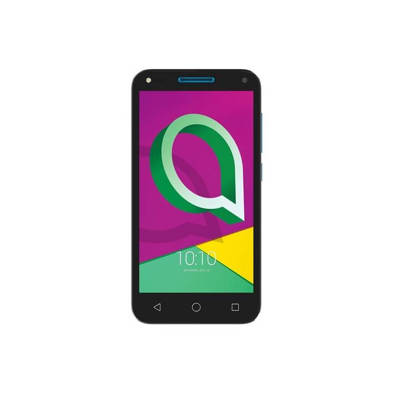 Mobilný telefón ALCATEL U5 3G 4047D Dual SIM (4047D-2CALE11) čierny/modrý