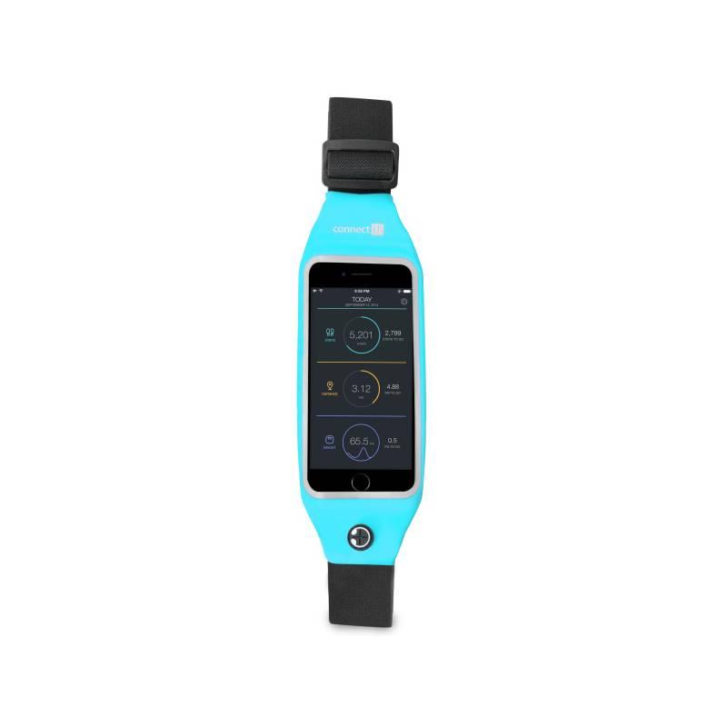"""Bežecký pás Connect IT pro mobily s uhlopříčkou 4,7"""" (CFF-2150-BL) modrý"""