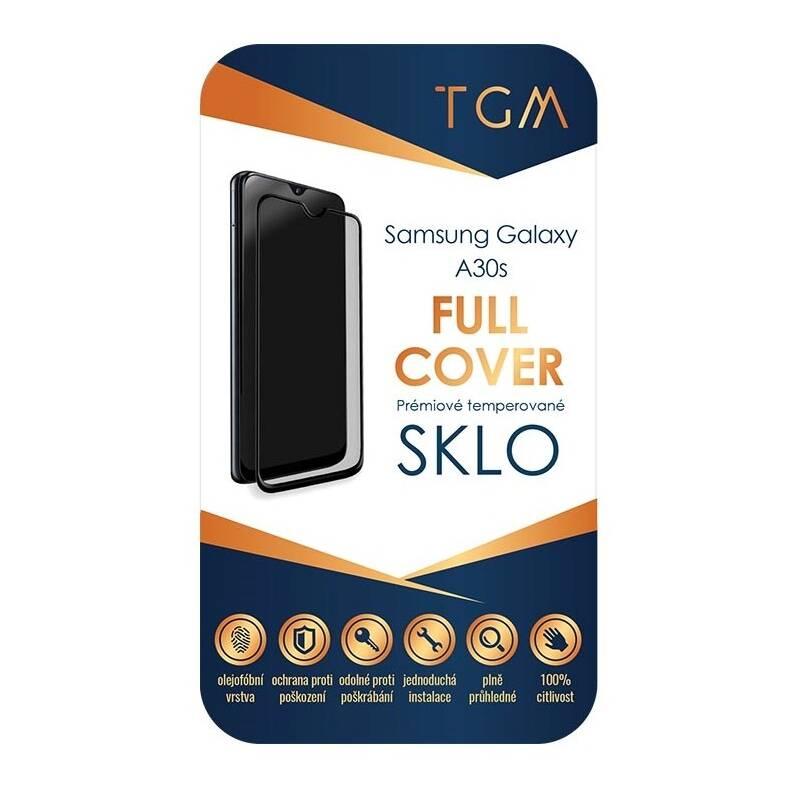 Ochranné sklo TGM Full Cover pro Samsung Galaxy A30s (TGMSAMA30S) čierne