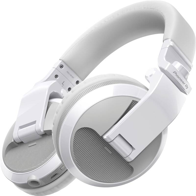 Slúchadlá Pioneer DJ HDJ-X5BT-W (HDJ-X5BT-W) biela + Doprava zadarmo