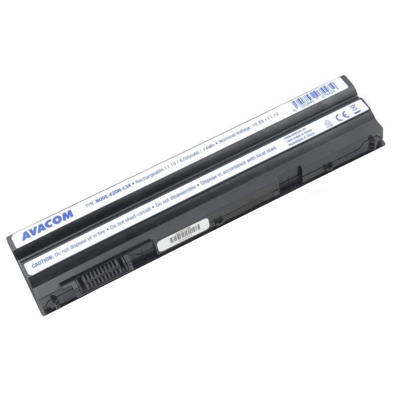 Batéria Avacom Dell Latitude E5420, E5530, Inspiron 15R, Li-Ion 11,1V 6700mAh 74Wh (NODE-E20N-L34) + Doprava zadarmo