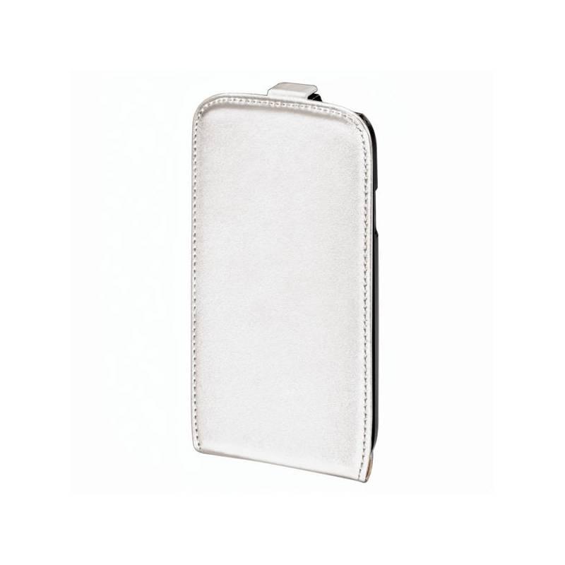 Púzdro na mobil Hama Rubber pro Apple iPhone 5 (118800) biele