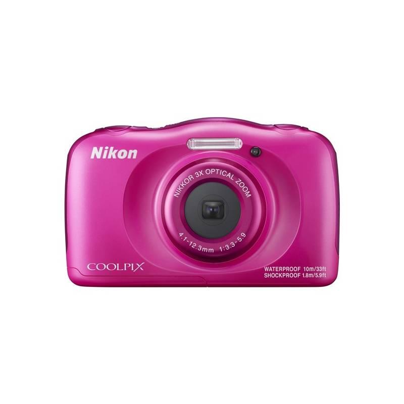 Digitálny fotoaparát Nikon Coolpix W100 BACKPACK KIT (VQA012K001) ružový