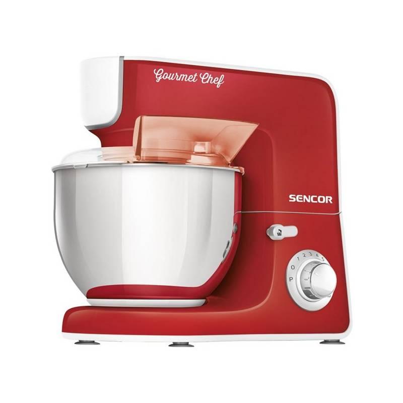Kuchynský robot Sencor STM 3774RD červený