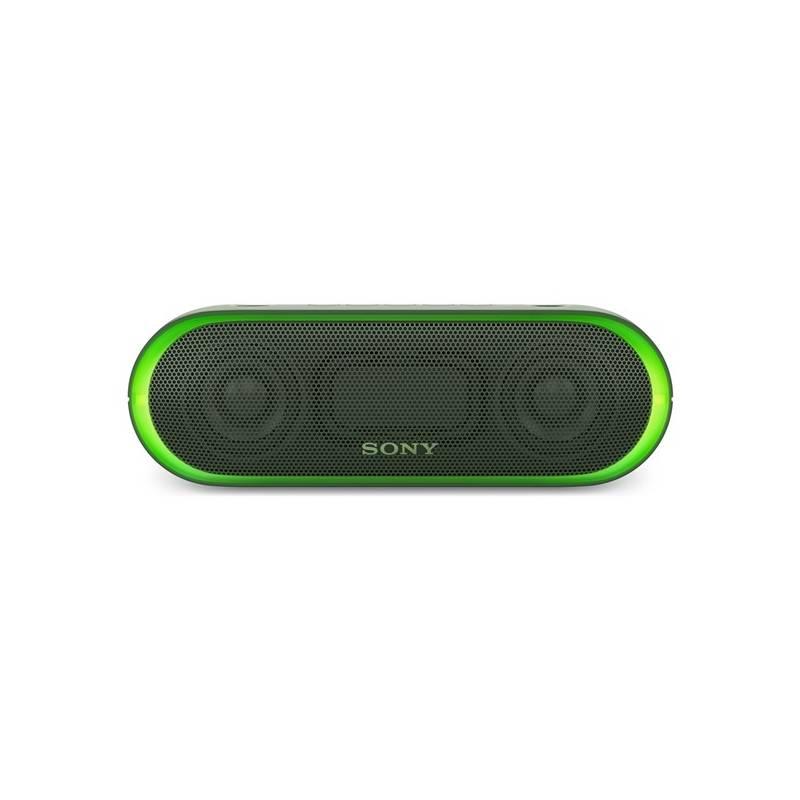 Prenosný reproduktor Sony SRS-XB20G zelené