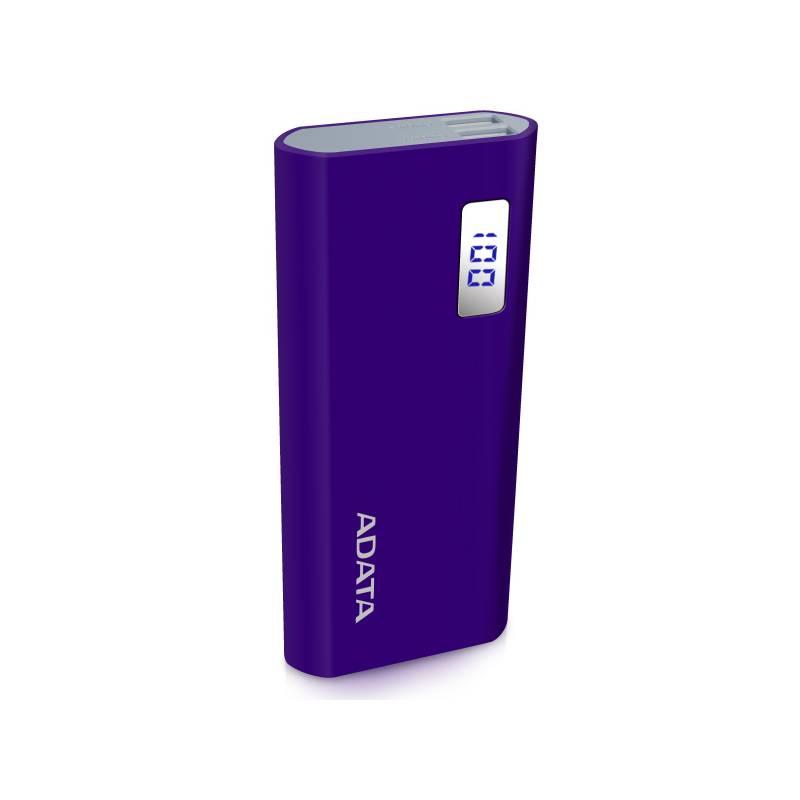 Power Bank ADATA P12500D 12500mAh (AP12500D-DGT-5V-CPU) fialová