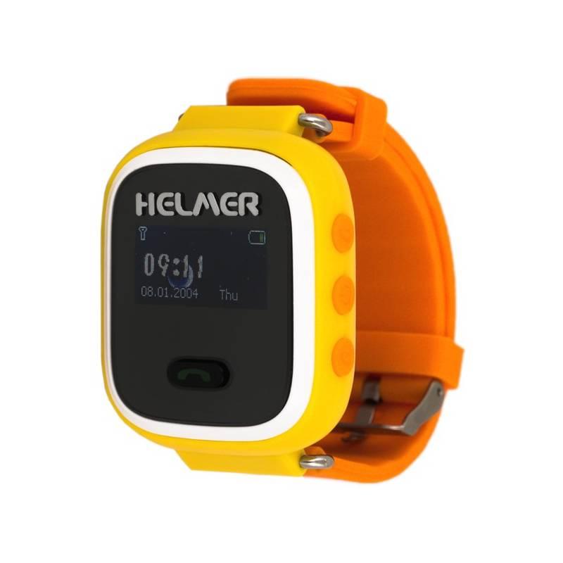Chytré hodinky Helmer LK 702 dětské (Helmer LK 702 Y) žltý