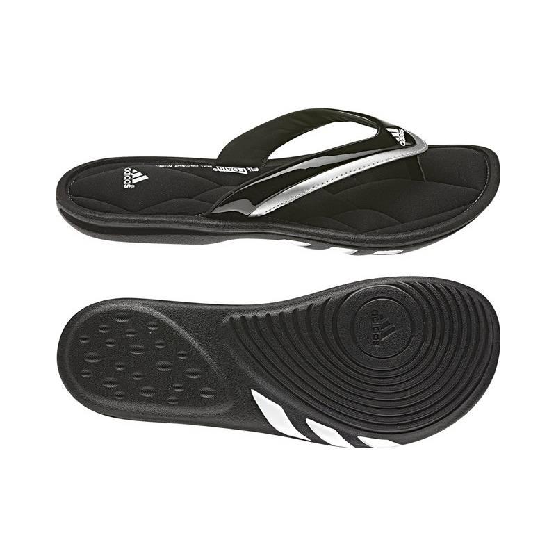 Obuv Adidas Sleekwana QFF W - vel. 6 UK černá/stříbrná/bílá ...