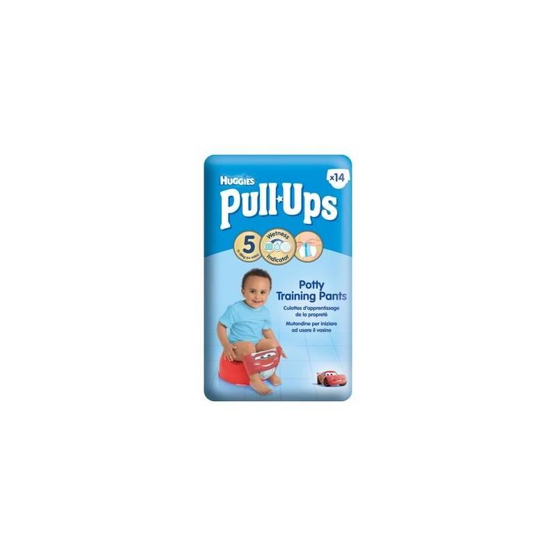 Plienky Huggies Pull Ups Medium - Boys 14-18 kg, 14 ks