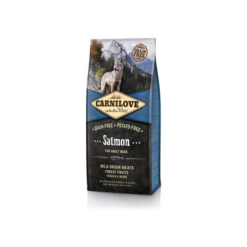 Granule Brit Carnilove Salmon for Adult 12 kg Antiparazitní obojek Scalibor Protectorband pro psy - 48 cm
