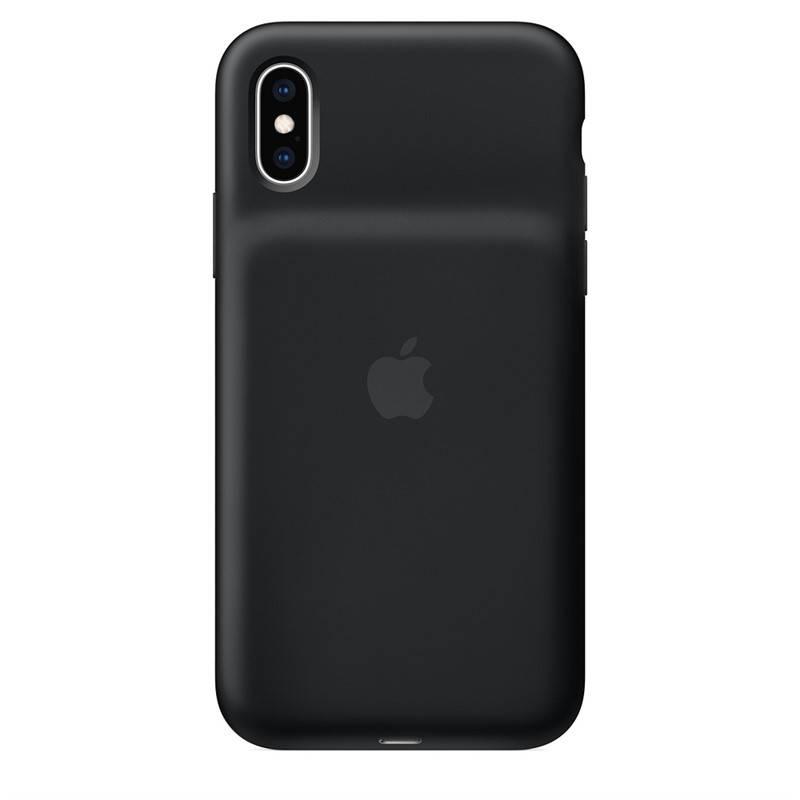 Kryt na mobil Apple Smart Battery Case pro iPhone Xs (MRXK2ZM/A) čierny