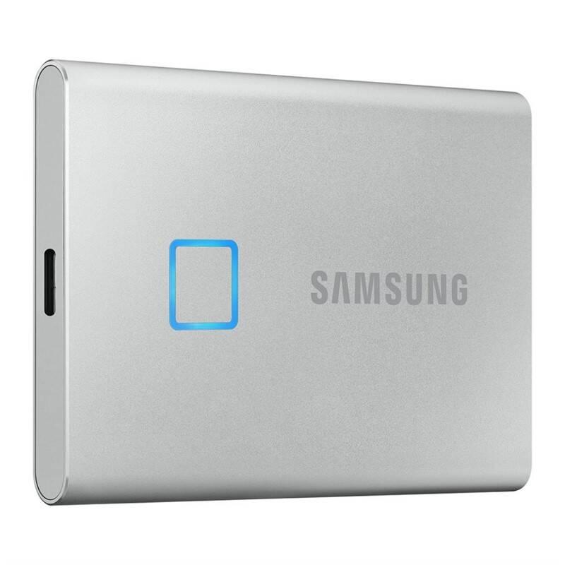 SSD externý Samsung T7 Touch 1TB (MU-PC1T0S/WW) strieborný