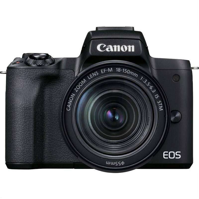 Digitálny fotoaparát Canon EOS M50 Mark II + EF-M 18-150 (4728C017) čierny + Doprava zadarmo