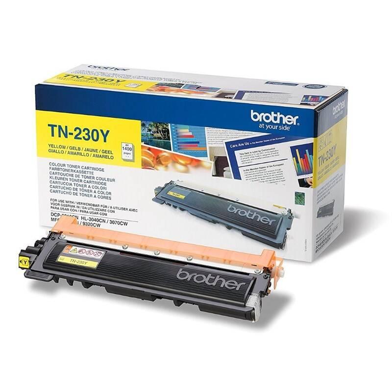 Toner Brother TN-230Y, 1400 stran (TN230Y) žltý