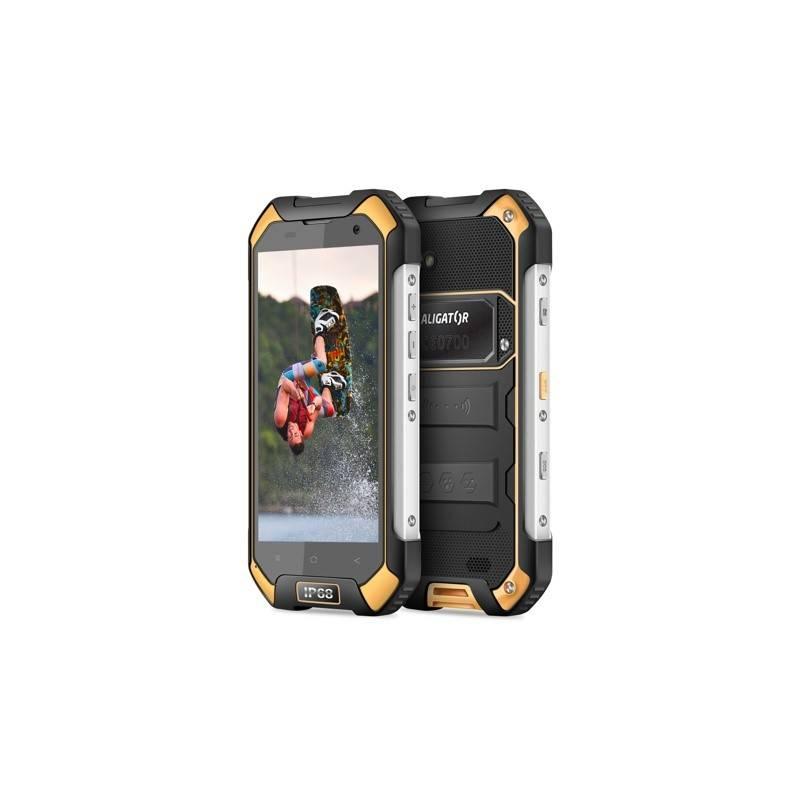 Mobilný telefón Aligator RX550 eXtremo Dual SIM (ARX550BY) čierny/žltý Software F-Secure SAFE, 3 zařízení / 6 měsíců (zdarma) + Doprava zadarmo