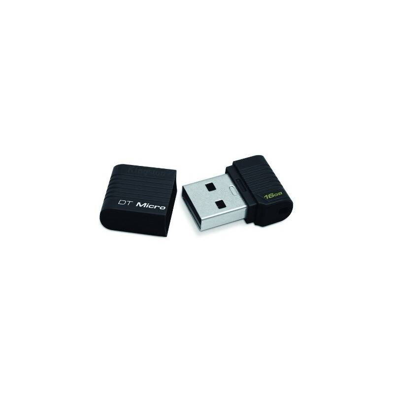 USB flash disk Kingston DataTraveler Micro 16GB (DTMCK/16GB) čierny