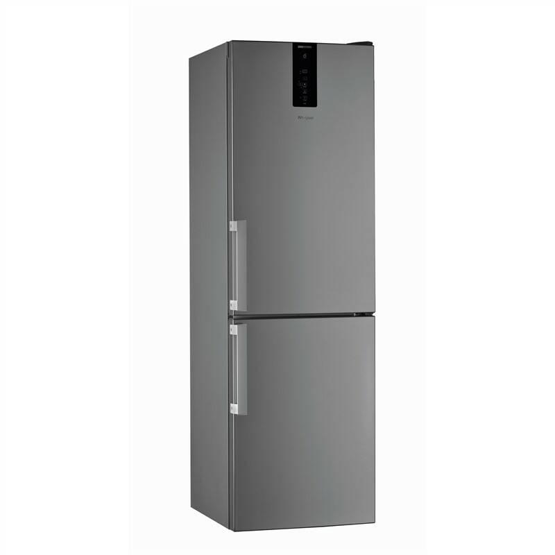 Kombinácia chladničky s mrazničkou Whirlpool W Collection W9 821D OX H nerez + Extra zľava 10 % | kód 10HOR2020 + Doprava zadarmo