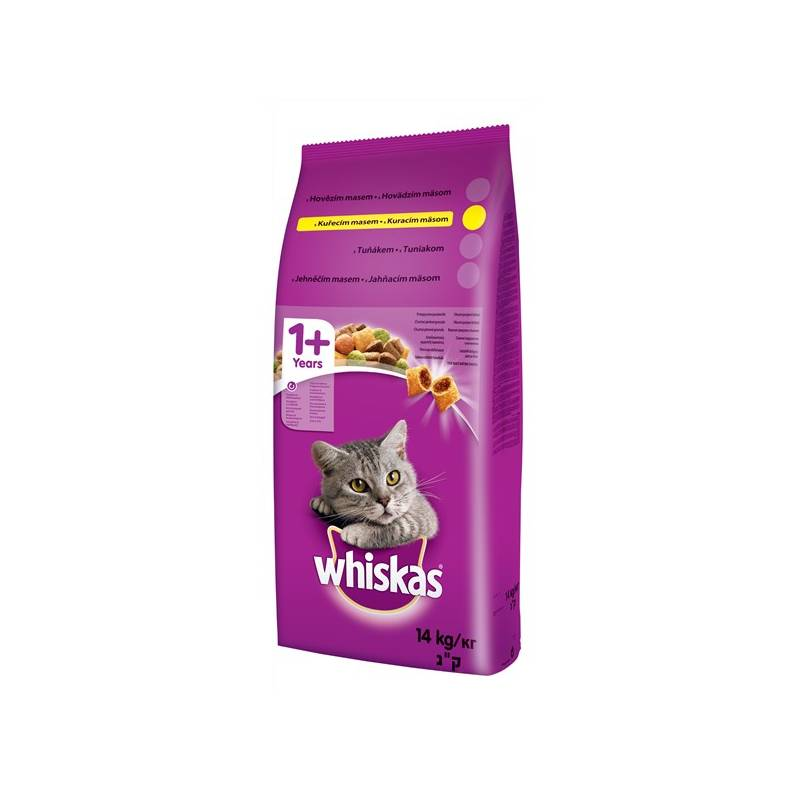 Granule Whiskas Adult kuřecí 14 kg