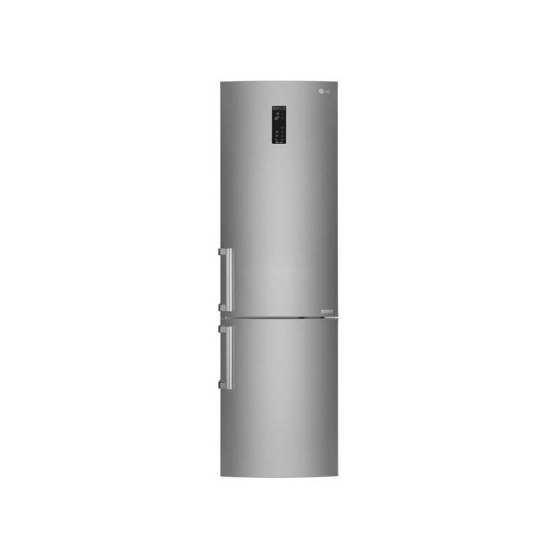 Kombinácia chladničky s mrazničkou LG GBB60SAYFE nerez + dodatočná zľava 10 % + Doprava zadarmo