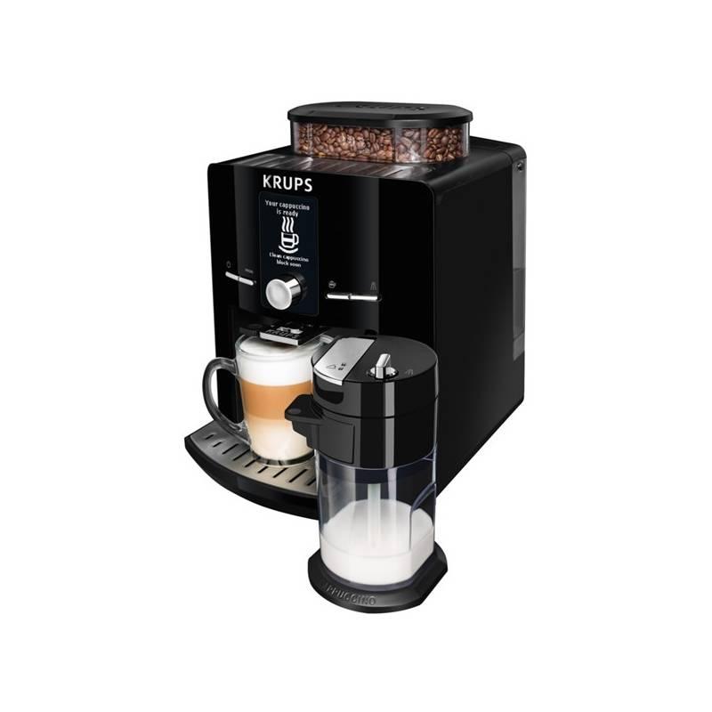 Espresso Krups EA829810 čierne