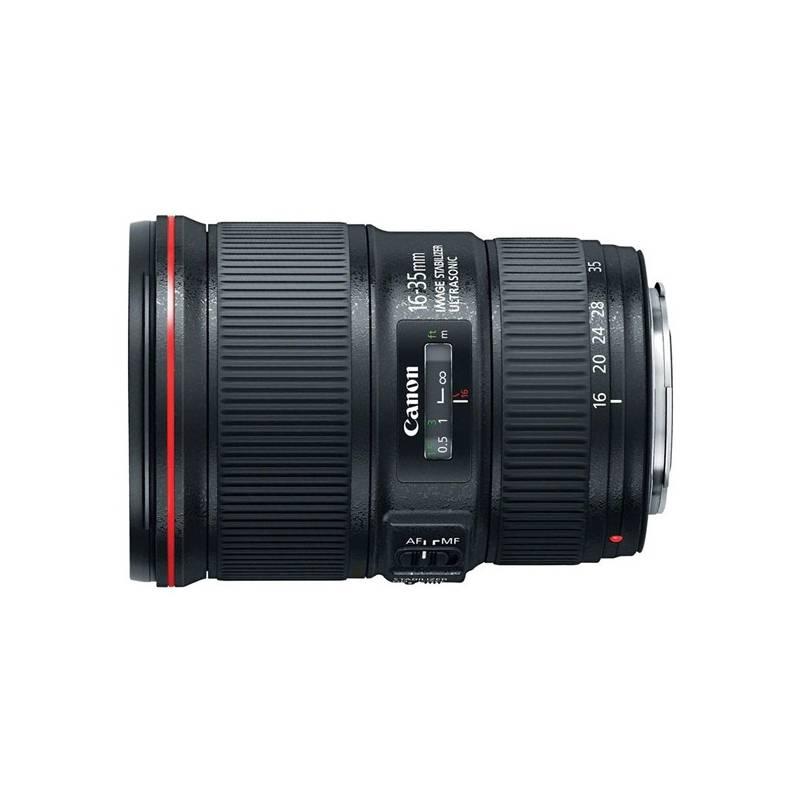 Objektiv Canon EF 16-35 mm f/4L IS USM černý